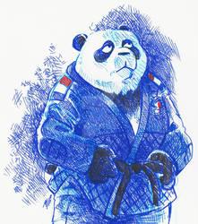 Blue Panda Judo