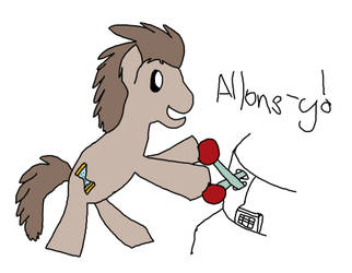 [Old Doodle] Allons-y! by MarkKB