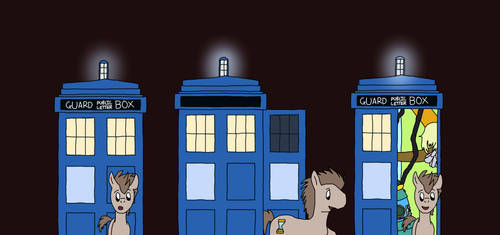 The Pony Doctor's TARDIS - Exterior