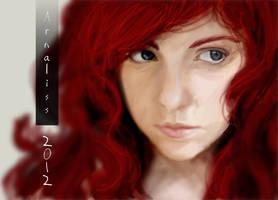 Arna portrait by vientocaprichoso