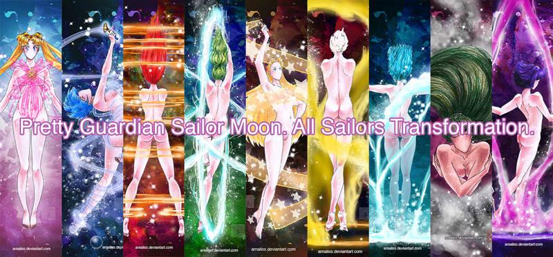 Pretty Guardian Sailor Moon - All Sailors