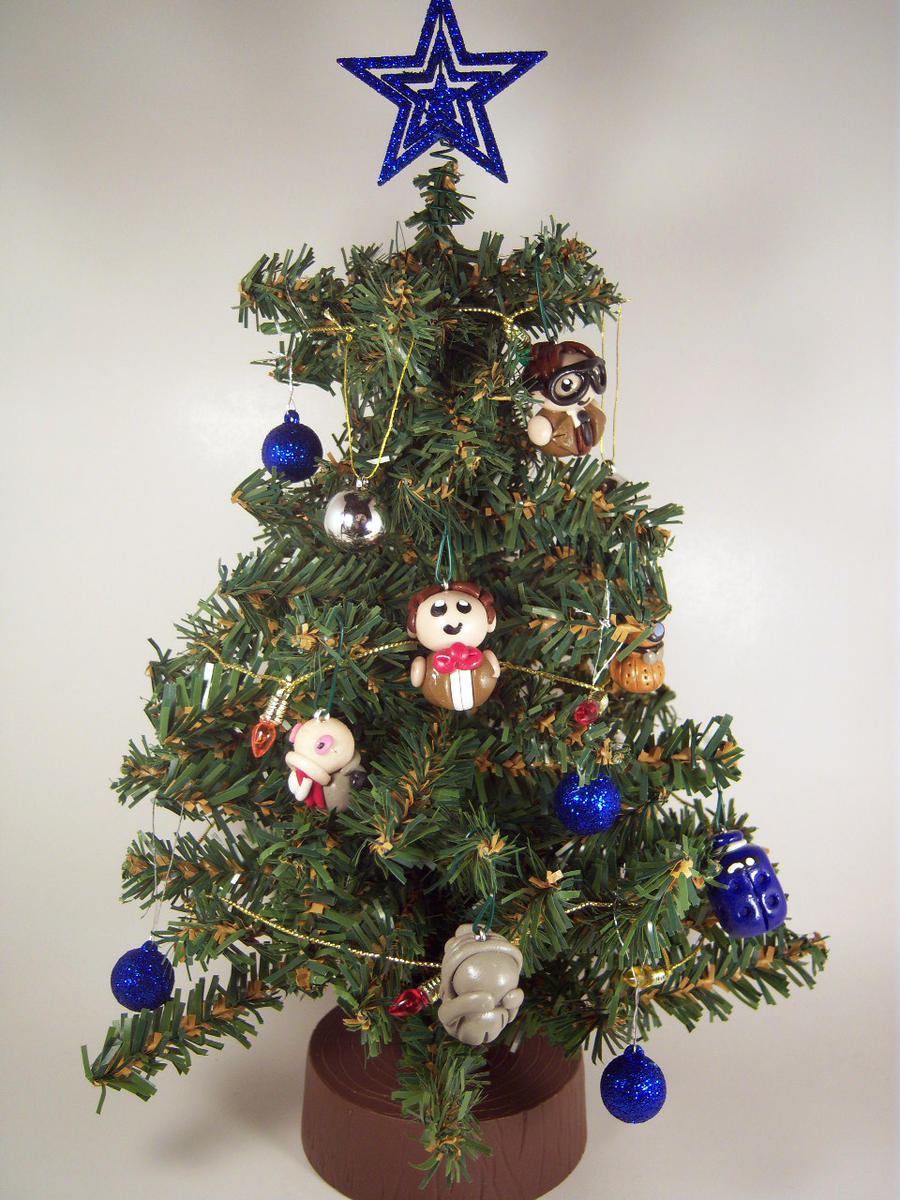 Doctor Who Christmas Tree by sweet-geek