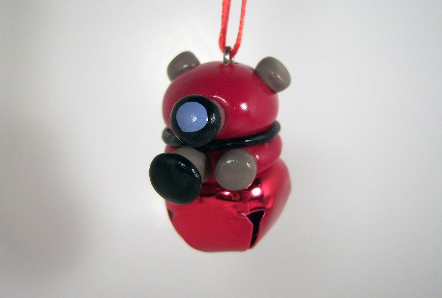 Doctor Who Dalek Bell Ornament by sweet-geek