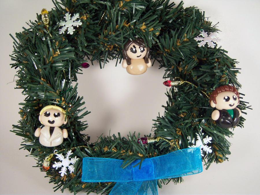 Buffy The Vampire Slayer Wreath by sweet-geek