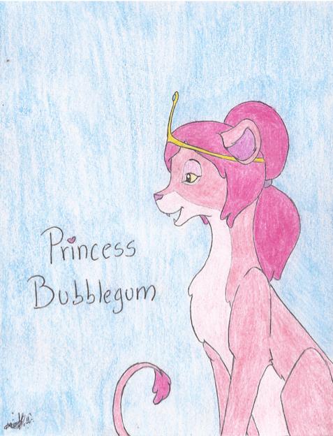 [concurso] leoniza a los personajes de hora de aventura - Página 2 Princess_bubblegum__lion____dulce_princesa__leona__by_akira_27-d8eh4hi