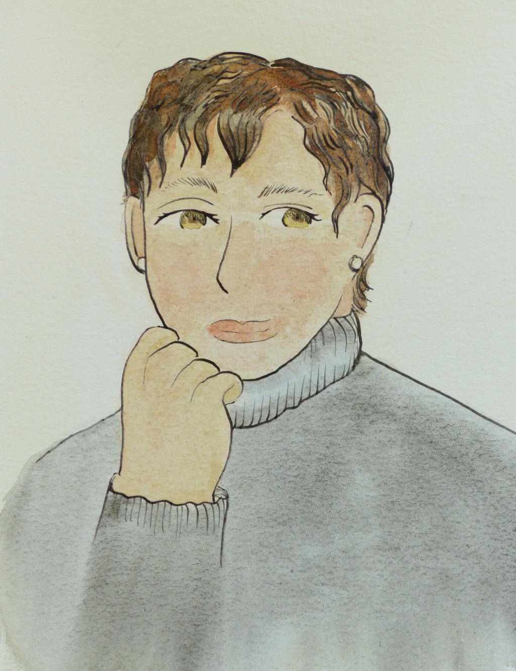 Self Portrait by Hestia-Edwards