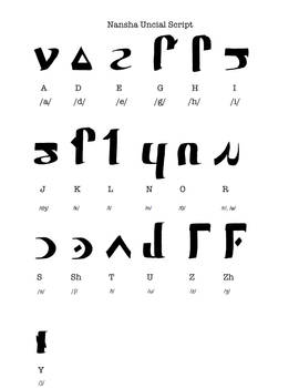 WIP: Nansha Uncial Script 2