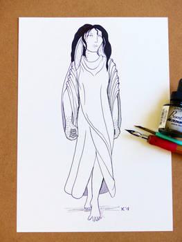 Halaina Character Sketch