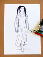 Halaina Character Sketch by Hestia-Edwards