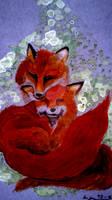 Foxes - a darker version