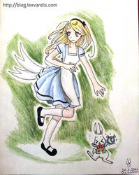 Alice in Wonderland by Lexvandis