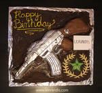 AK-47: Anniversary Cake - Call of Duty