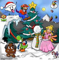 Nintendo: A Christmas Gathering by Lexvandis