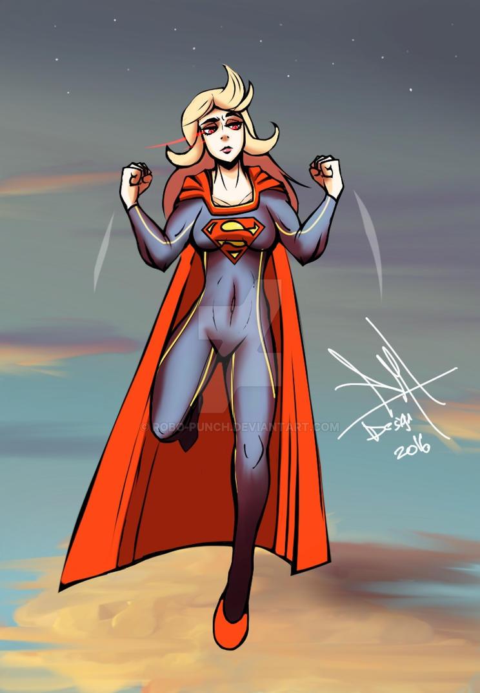 Supergirl 2016 by RaykuZan