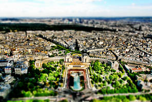 tilt shift - Paris