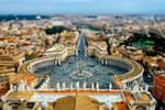 tilt shift - Vatican by zpecter