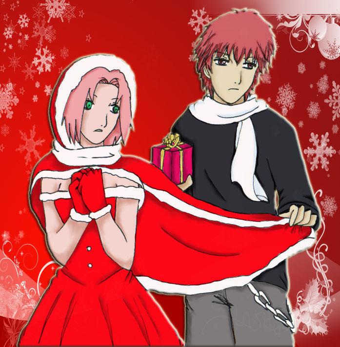 SASORI and Sakura by Anna85 on DeviantArt Сасори и Сакура Манга