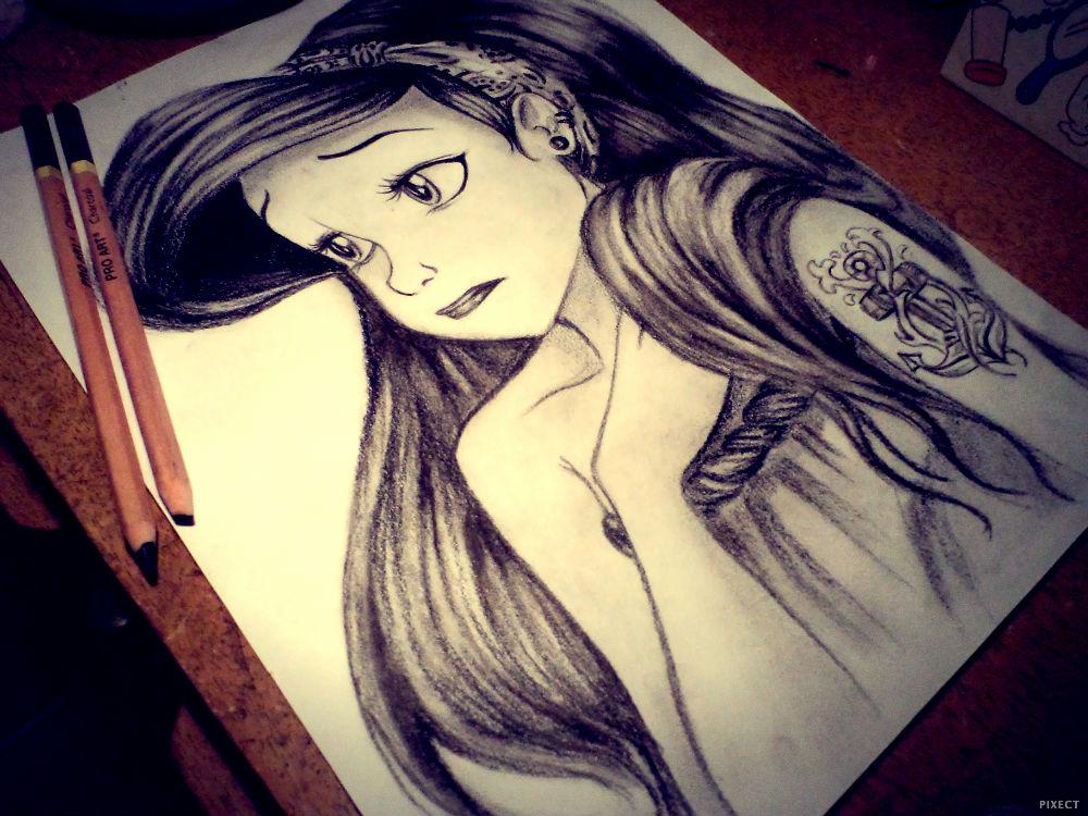 Ariel Drawings Tumblr Ariel by mimi97bluesky