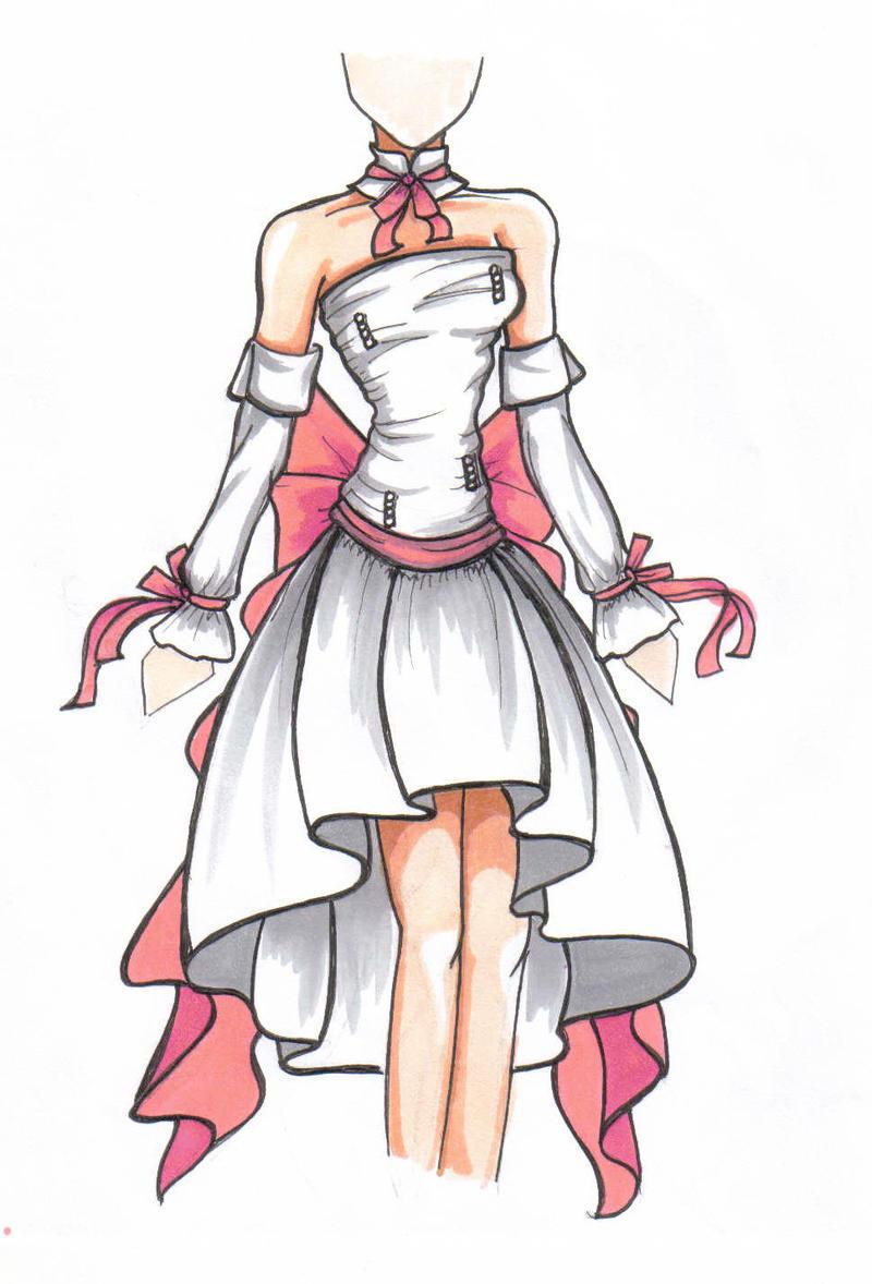Airi's Wedding Gown by Leadah
