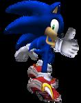 Sa2 Sonic Pose