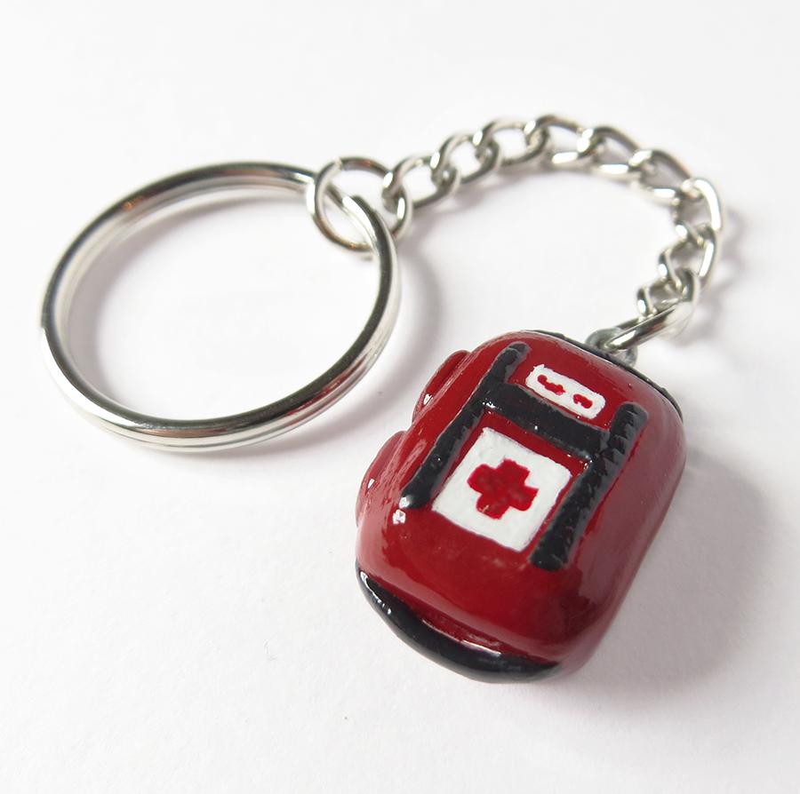 Left 4 Dead Health Kit Charm by WispyChipmunk