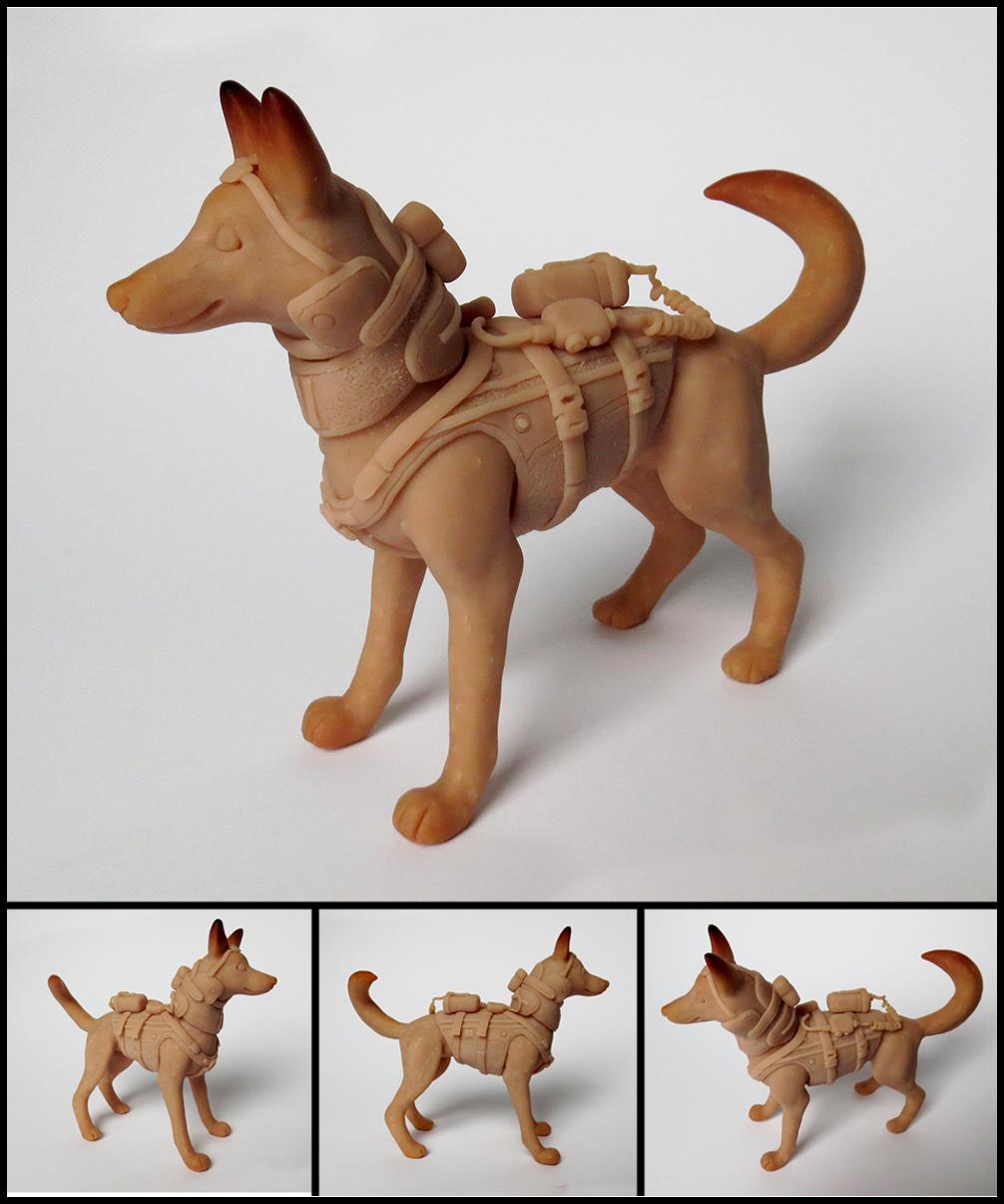 Riley Sculpture WIP by WispyChipmunk