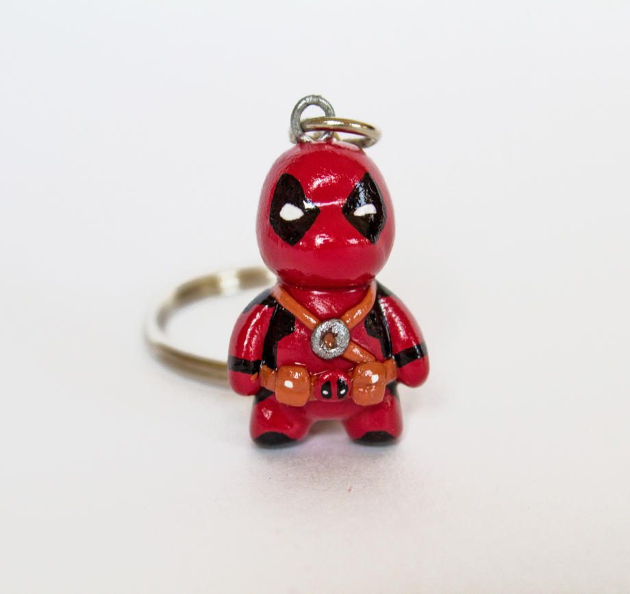 Deadpool Charm Commission by WispyChipmunk