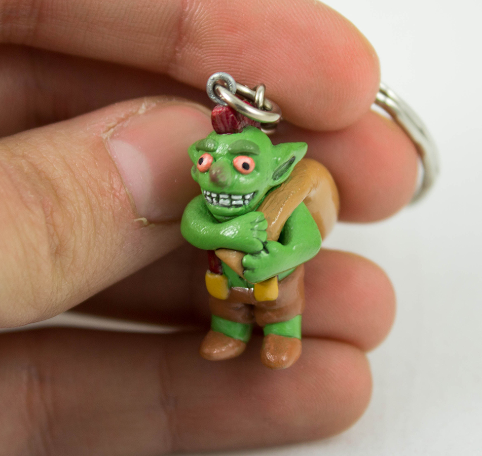 Clash of Clans Goblin Charm by WispyChipmunk
