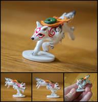 Amaterasu Miniature by WispyChipmunk