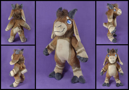 Wotter Plushie Commission
