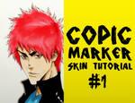 Copic Marker Tutorial: Skin by WhytManga