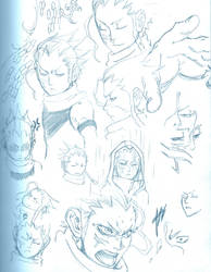 Osamu Sketches by WhytManga