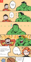 The Avengers React to Thor's Sex Change (UPDATED) by WhytManga