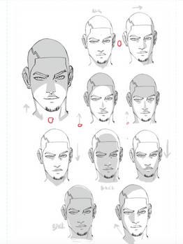 Faces Shaded 10 Ways