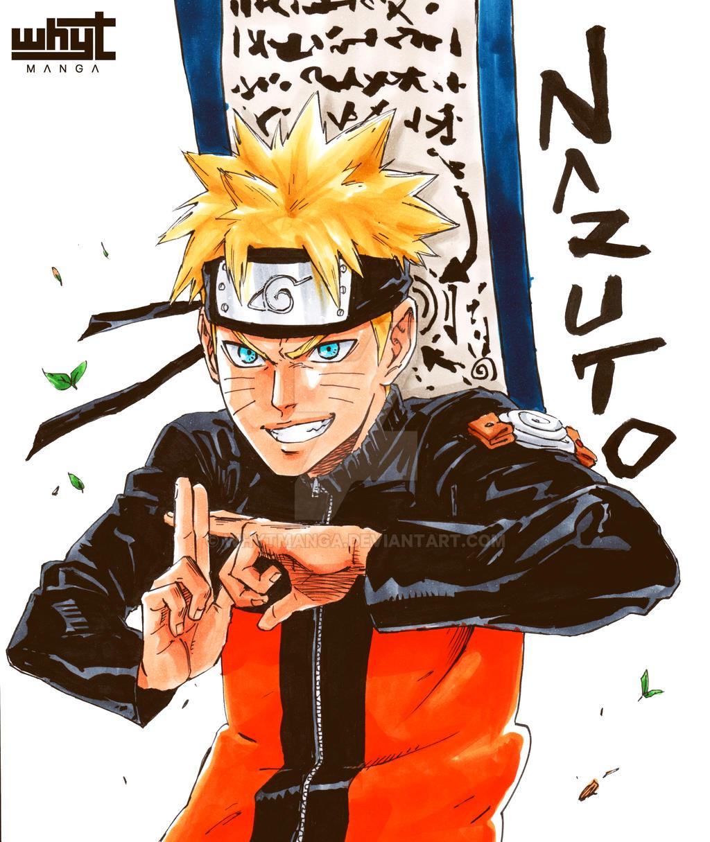 Naruto Uzumaki In My STYLE! By WhytManga On DeviantArt
