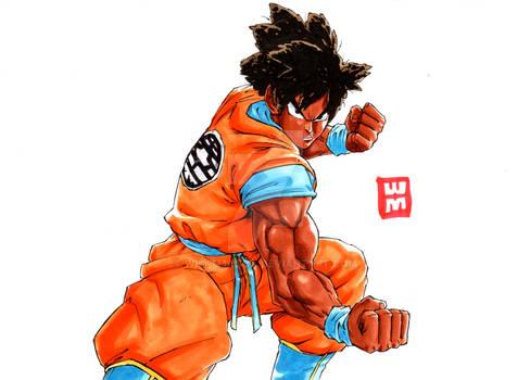 Goku If he Was Black!