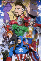 Avengers Endgame in My Hero Academia