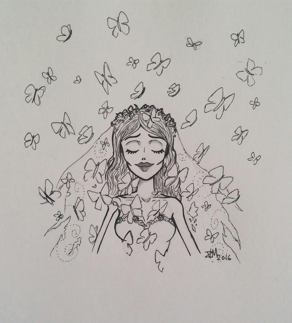 Corpse Bride by Violet-Daze