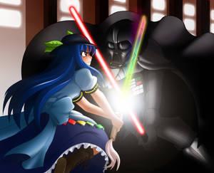 Tenshi versus Darth Vader