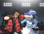 Uncle Mugen Takes Down Powertripping jp Meido