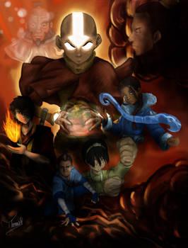 Avatar the Last Airbender Endgame Poster