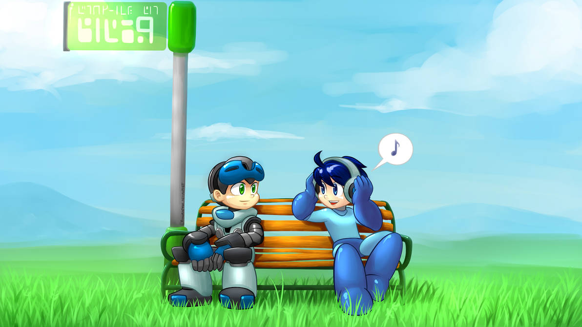 Nice Music! (Megaman and Mighty no.9)