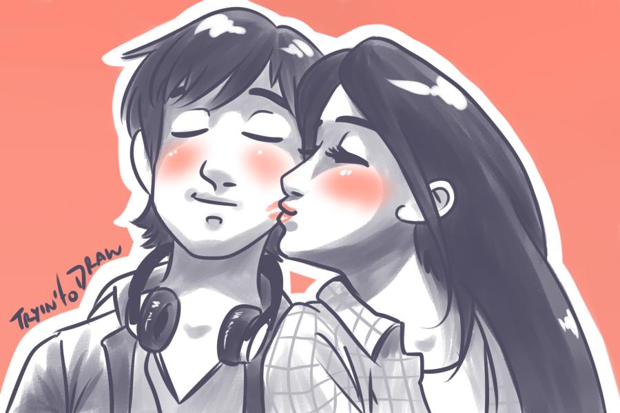 Kiss~ by FinoRaptor
