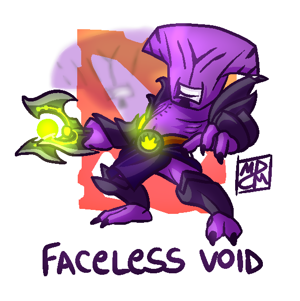 faceless void dota 2 by finoraptor on deviantart