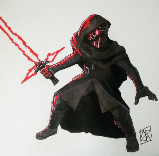 Kylo Ren - Colored by FinoRaptor