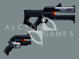 Weapons in our game