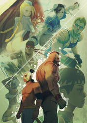 Street Fighter by jaimito