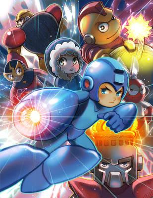 Mega Man Tribute by jaimito