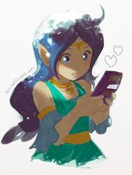 The Legend of Zelda Nayru by jaimito