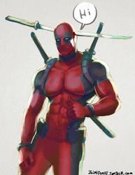 Deadpool by jaimito